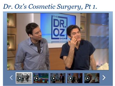 Dr. Oz Has Childhood Scar Removed on Show Featuring Jimmy Fallon
